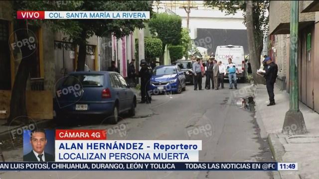 Localizan a persona muerta en Santa María la Ribera