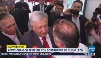 López Obrador Llama Reconciliación Reunión Obispos