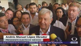 López Obrador quiere vivir en Palacio Nacional