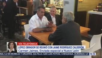 López Obrador se reúne con Jaime Rodríguez 'El Bronco'