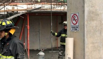 Losa de concreto sepulta a hombre en avenida Ingenieros Militares