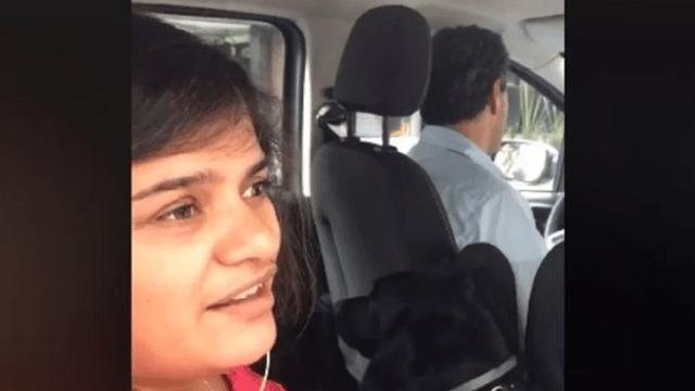 Mujer denuncia discriminación por parte de chofer de Uber