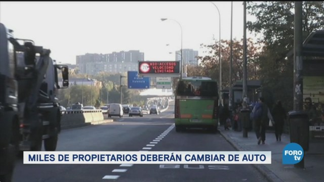 Madrid sentencia a muerte a los motores de diésel
