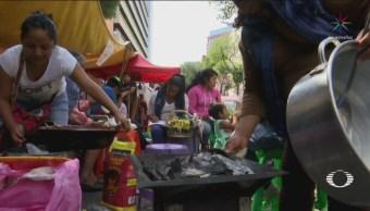 Familias Otomíes Desalojadas Colonia Juárez CDMX
