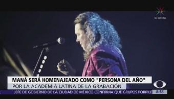 Maná será homenajeado como 'Persona del Año'