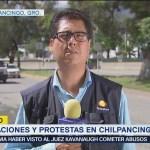 Manifestantes afectan la circulación de la Autopista del Sol