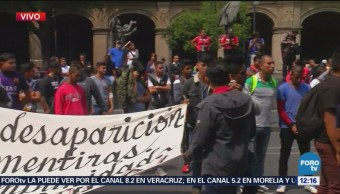 Manifestantes bloquean la Suprema Corte de justicia