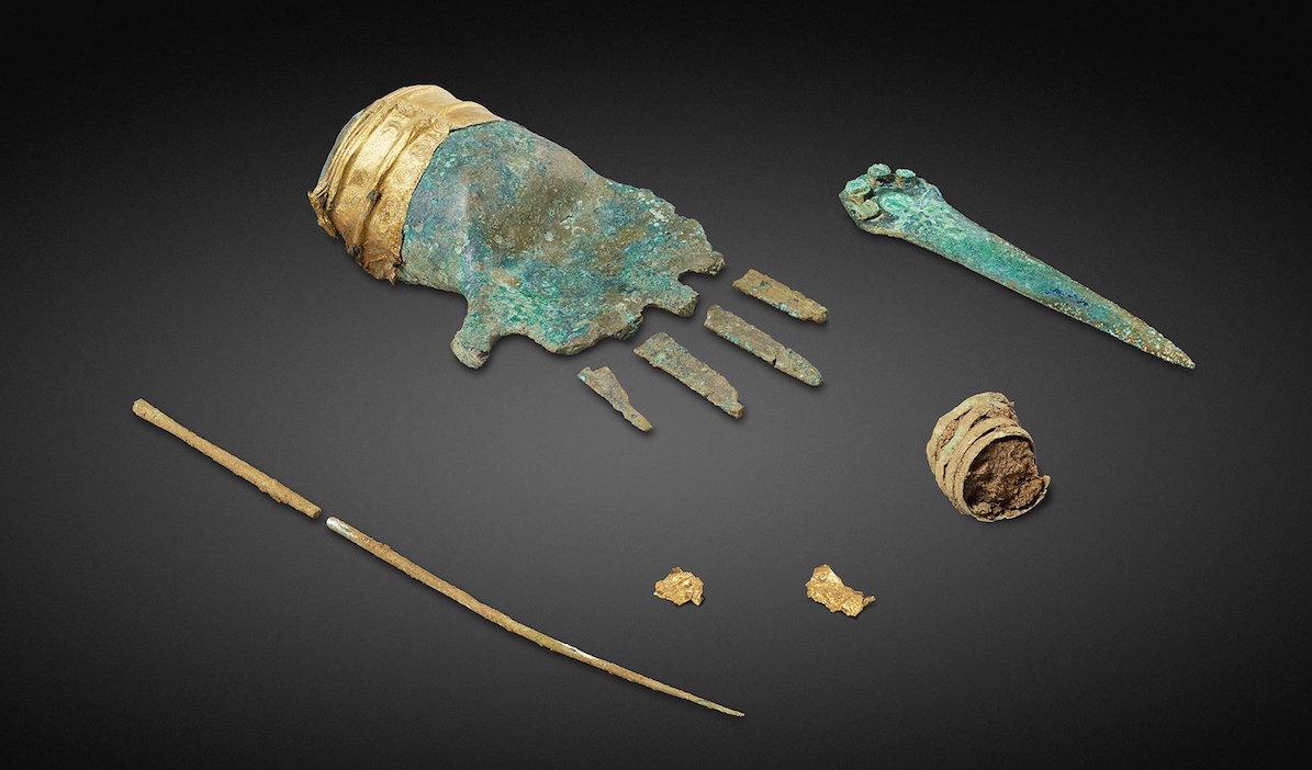 Prótesis Bronce 3,500 Años Mano Europa