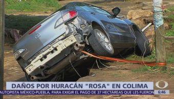 Manzanillo registra fuertes lluvias por efectos del huracán