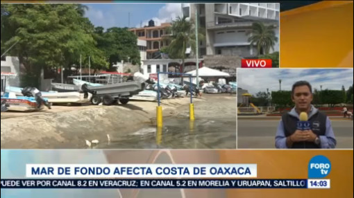 Mar De Fondo Afecta Costas Oaxaca Fuerte Oleaje Estado De Oaxaca Oaxaca