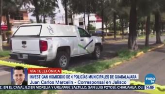 Matan En Tonalá Cuatro Policías Municipales Guadalajara