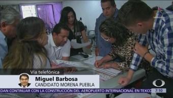 Miguel Barbosa mantendrá impugnación sin importar resultado