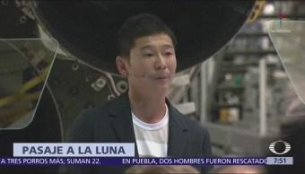 Millonario japonés Yusaku Maezawa será primer turista Luna