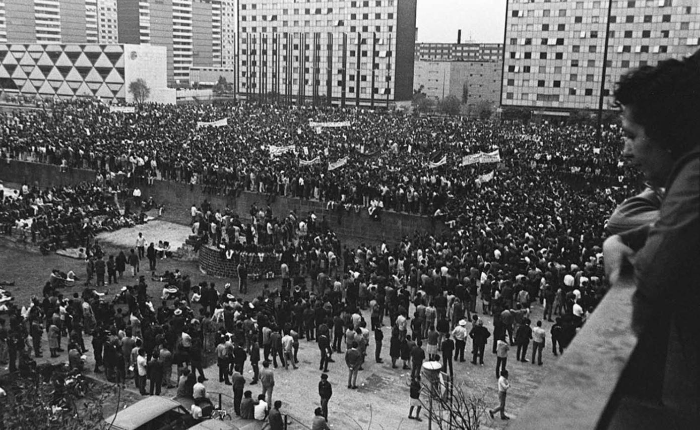 Enrique del Val da su testimonio sobre el 2 de octubre de 1968