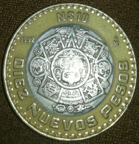 Ciertas monedas de $10 pesos contienen plata, ¿puedes reconocerlos?