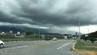Lluvia en Nuevo León 16 de septiembre 2018