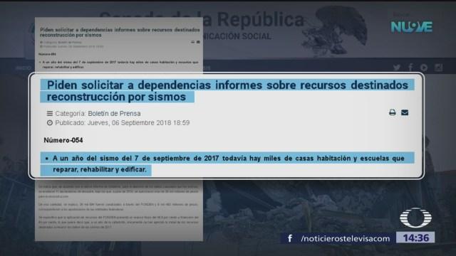 Morena Pide Informe Sobre Apoyo Damnificados Del 7S