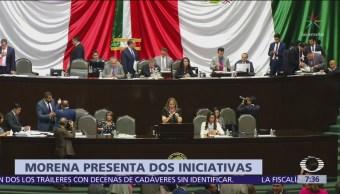 Morena propone que ningún partido use colores de la bandera