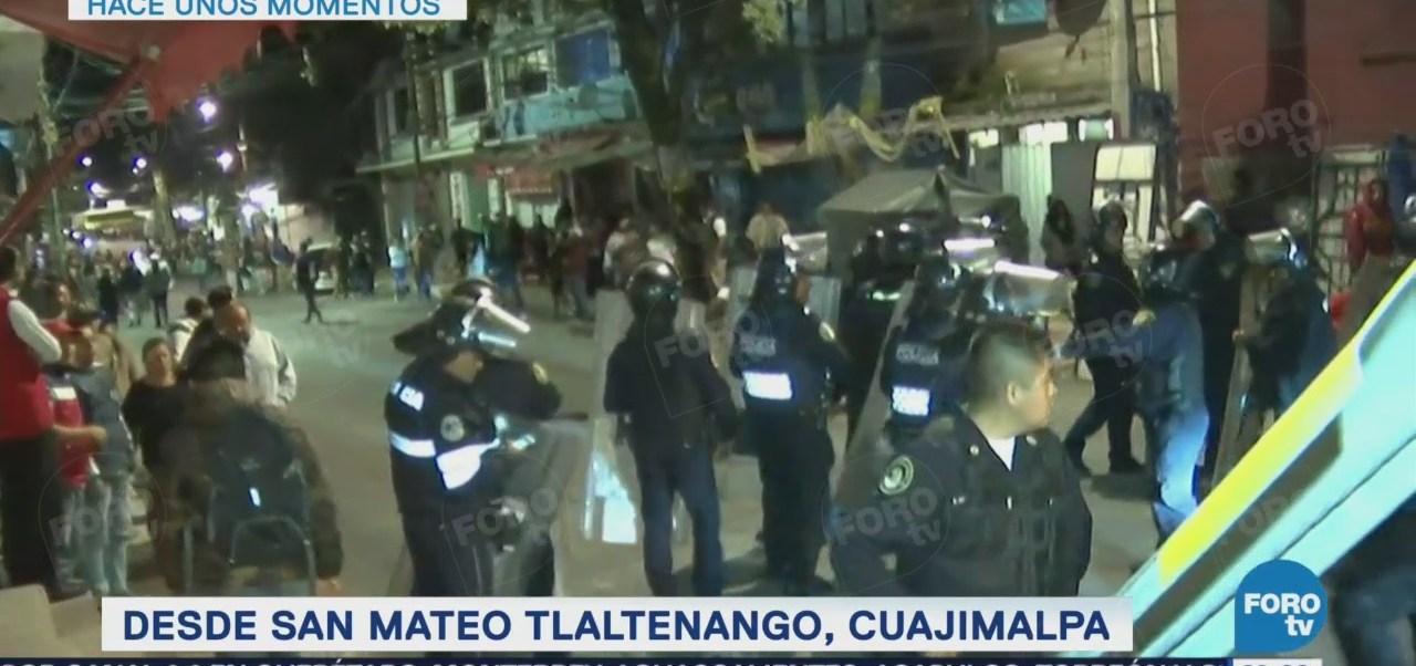 Muere hombre linchado en San Mateo Tlaltenango, Cuajimalpa