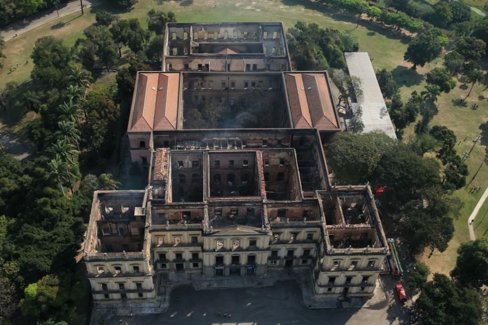 Unesco reconstruiría el Museo Nacional de Rio de Janeiro