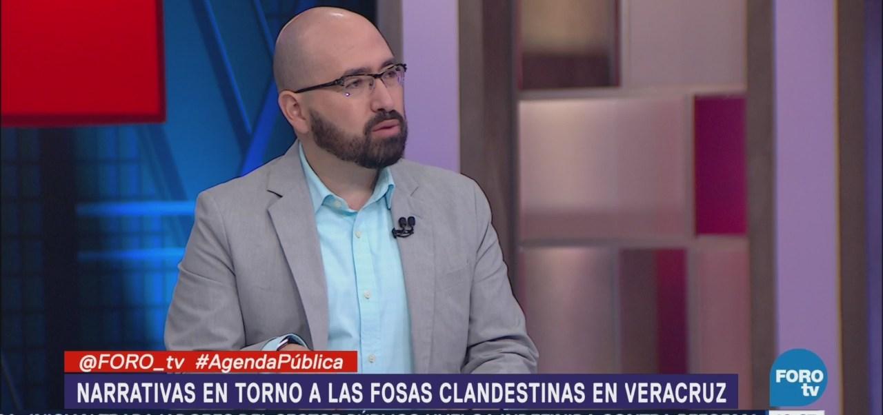 Narrativas sobre las fosas clandestinas en Veracruz