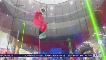 Niño de 6 años gana campeonato de paracaidismo en China