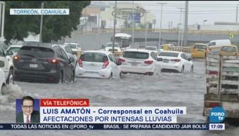 Inundaciones Torreón Coahuila Intensas Lluvias Afectaciones