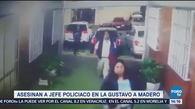 Asesinan A Jefe Policiaco Gustavo A. Madero Asesinaron De Un Tiro En La Cabeza Jefe Policiaco Delegación Gustavo A. Madero