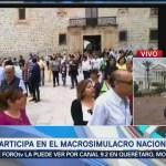 Oaxaca se une al macrosimulacro nacional