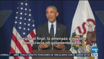 Obama Y Trump Intercambias Críticas Mítines Electorales