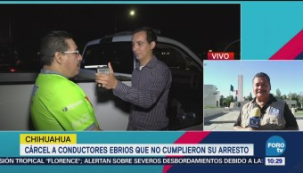 Operativo Conduce Sin Alcohol Ciudad Juárez Chihuahua