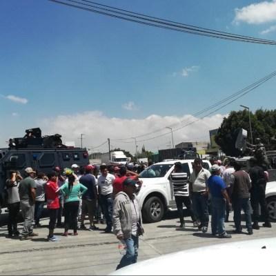 Detienen a dos por fuga de gas que provocó desalojo en Puebla