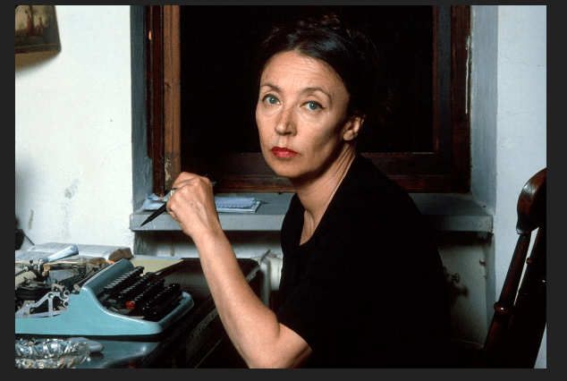 Oriana Fallaci en 1979. (Getty Images, archivo)