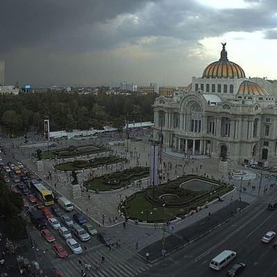 Prevén lluvias durante la tarde en la Ciudad de México