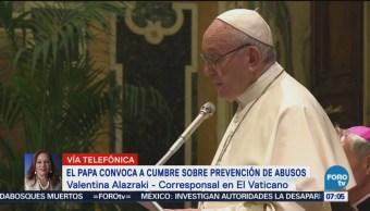 Papa Francisco convoca a cumbre sobre abusos sexuales