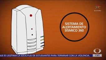 Péndulo funciona como alerta sísmica en Chiapas
