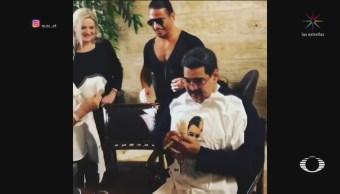 Perla Negra Maduro Disfruta Banquete Turquía
