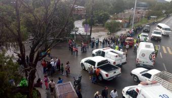 Lluvias dejan casas inundadas en La Cañada y La Monja, Querétaro