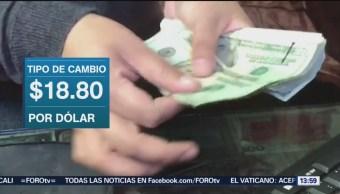 Peso se aprecia 1.12% ante negociación de TLCAN positiva
