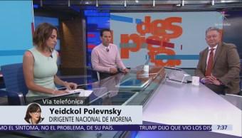 Polevnsky pide no actuar en política, como si fuera futbol