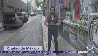 Policía de la CDMX se enfrenta con asaltantes en la Condesa
