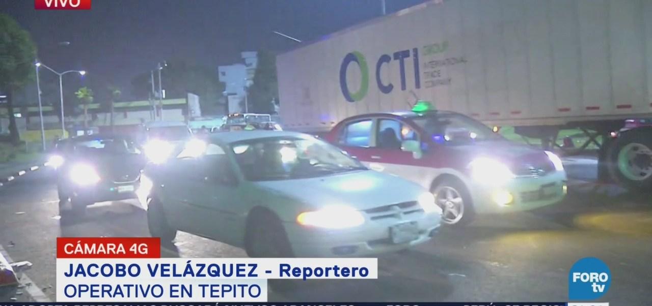 Policía Encuentra Locales Tepito Vacíos Durante Operativo