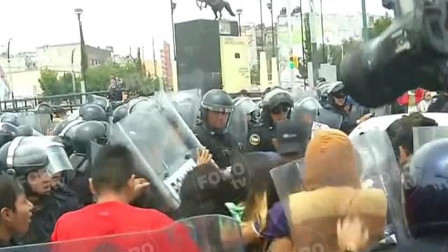 CDMX: Trifulca entre comerciantes de Tepito y policías