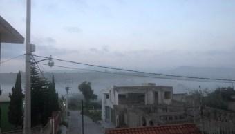 Por nube tóxica suspenden clases en Tula de Allende