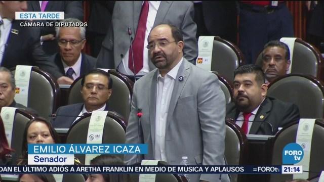 Porfirio Muñoz Ledo Lanza Contra Álvarez Icaza Presidente De La Mesa Directiva Cámara De Diputados, Porfirio Muñoz Ledo