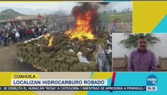 Localizan Hidrocarburo Robado Coahuila