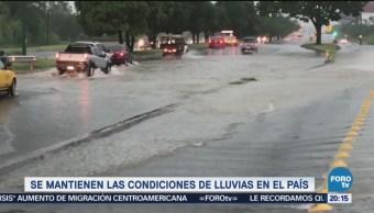 Pronostican más lluvias en gran parte de México