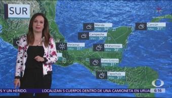 Pronostican tormentas fuertes en la mayor parte de México