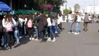 Estudiantes del Colegio de Bachilleres 4 exigen seguridad