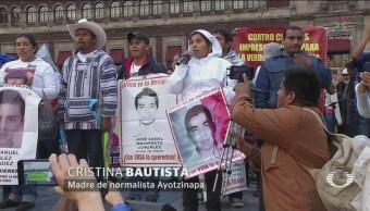 Protestas A Cuatro Años Desaparición Normalistas Ayotzinapa
